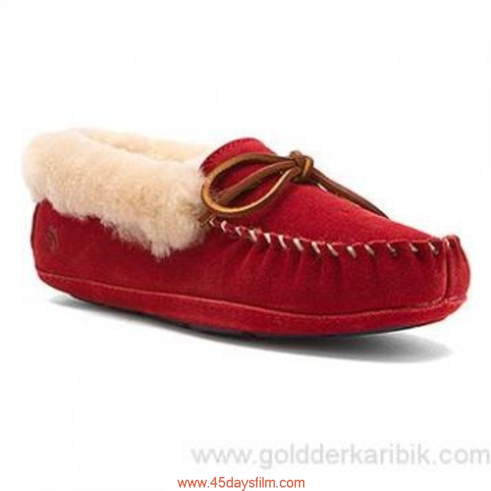 BQTQ5018763 Shop Cheap - 2016 Possible Womens Acorn Sheepskin Moxie Berry Moc Winter Size556578859510111213(US) Shoes DEHJMQRU37