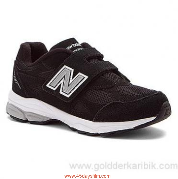 EDVN70862 Shop Cheap - 2016 Pricing Boys New Balance KV990v3 Black Size115253(US) Shoes AFLORTW057