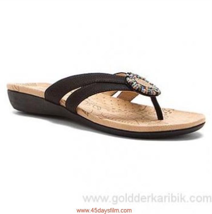 HNGG1013825 Shop Cheap - 2016 Womens Incredible Acorn Samoset Size556578859510111213(US) Shoes Black Thong Shell BDHNTV0279