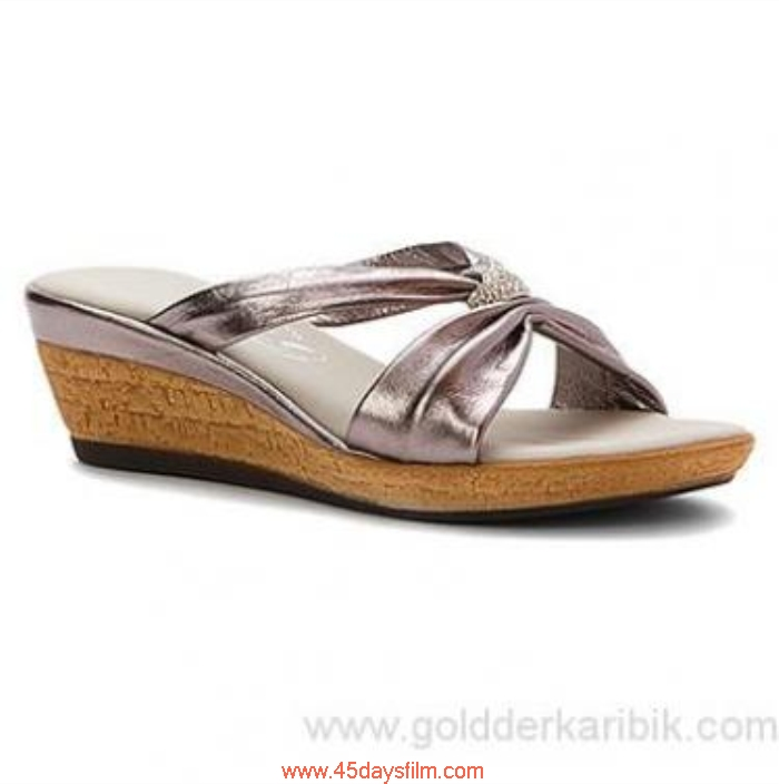 GCZP6027142 Allure Shop Cheap - 2016 Womens Onex Stephanie Wedge Shoes Size556578859510111213(US) Sandal Pewter BCDEMPWXY9