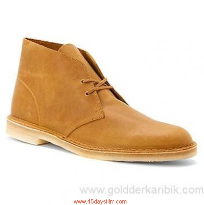 TDIT704362 Shop Cheap - 2016 Mens Highly Clarks Desert Leather Boot Shoes Mustard Size556578859510111213(US) CDEIJKPR89