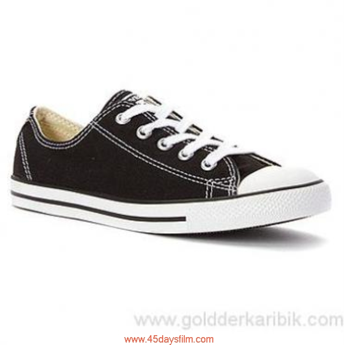 HKRQ7012940 Shop Cheap - 2016 Women\s Converse Chuck Taylor Dainty Low Size556578859510111213(US) Shoes Sneaker Top Black Advocation HJMOQSW259