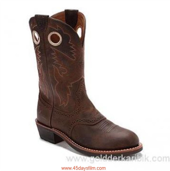 IUOC3034325 Shop Cheap - 2016 Womens Ariat Heritage Roughstock Antique Size556578859510111213(US) Salability Shoes Brown EGHOQX1234