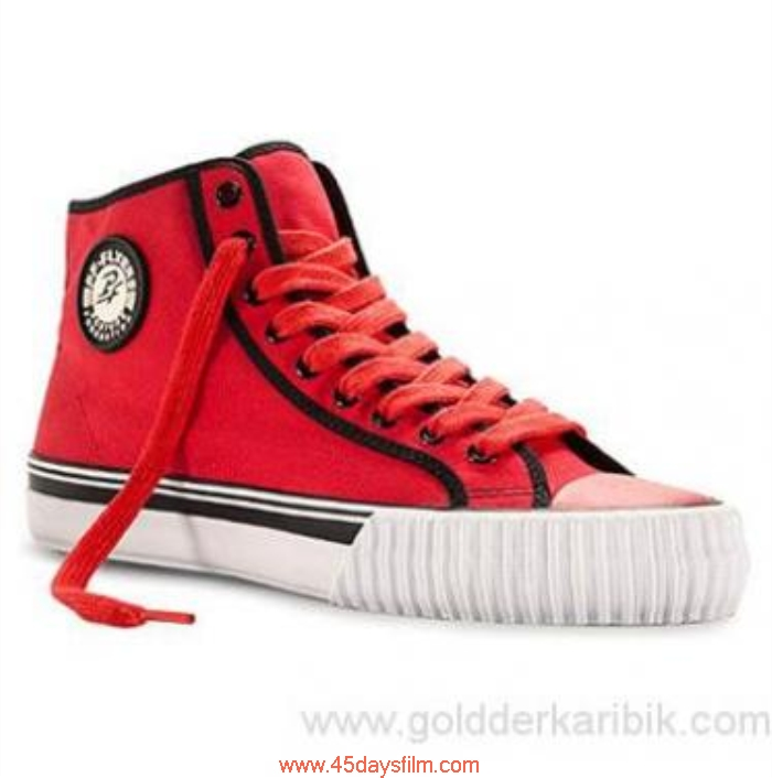 ULJG2013968 Shop Cheap - 2016 Womens PF Flyers Expediency Center Canvas HI Size556578859510111213(US) Red Shoes ACEGVWX237